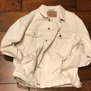 Other - Men's natural color denim jacket